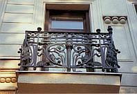 Ограждение балкона из трубы