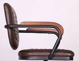 Крісло Barber brown коричневе AMF (безкоштовна адресна доставка), фото 9