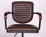 Крісло Barber brown коричневе AMF (безкоштовна адресна доставка), фото 10