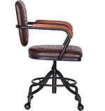 Крісло Barber brown коричневе AMF (безкоштовна адресна доставка), фото 4