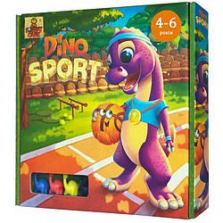"""Настольная игра """"Дино спорт"""" / Dino sport  - веселые гонки динозавров"""