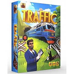 """Настольная игра """"Трафик"""" - компактная карточная игра о железной дороге"""