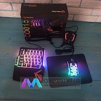 Игровой набор Meetion 4in1MT-C0015В клавиатура и мышь для ps4 ps3 xbox 360 клавиатура и мышь для пс3 пс4