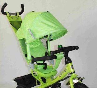 Детский трехколесный велосипед AZIMUT Trike  BC-17B надувные колеса, фото 2