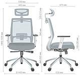 Кресло Install White Alum Grey/Skyline AMF (бесплатная адресная доставка), фото 10