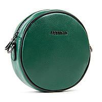 Женская сумка-клатч изумрудного зеленого цвета кожа 18*18*7см  ALEX RAI (1-02 39032-9 green)