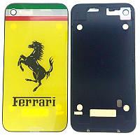 Задняя часть корпуса Apple iPhone 4 Желтый Ferrari Оригинал