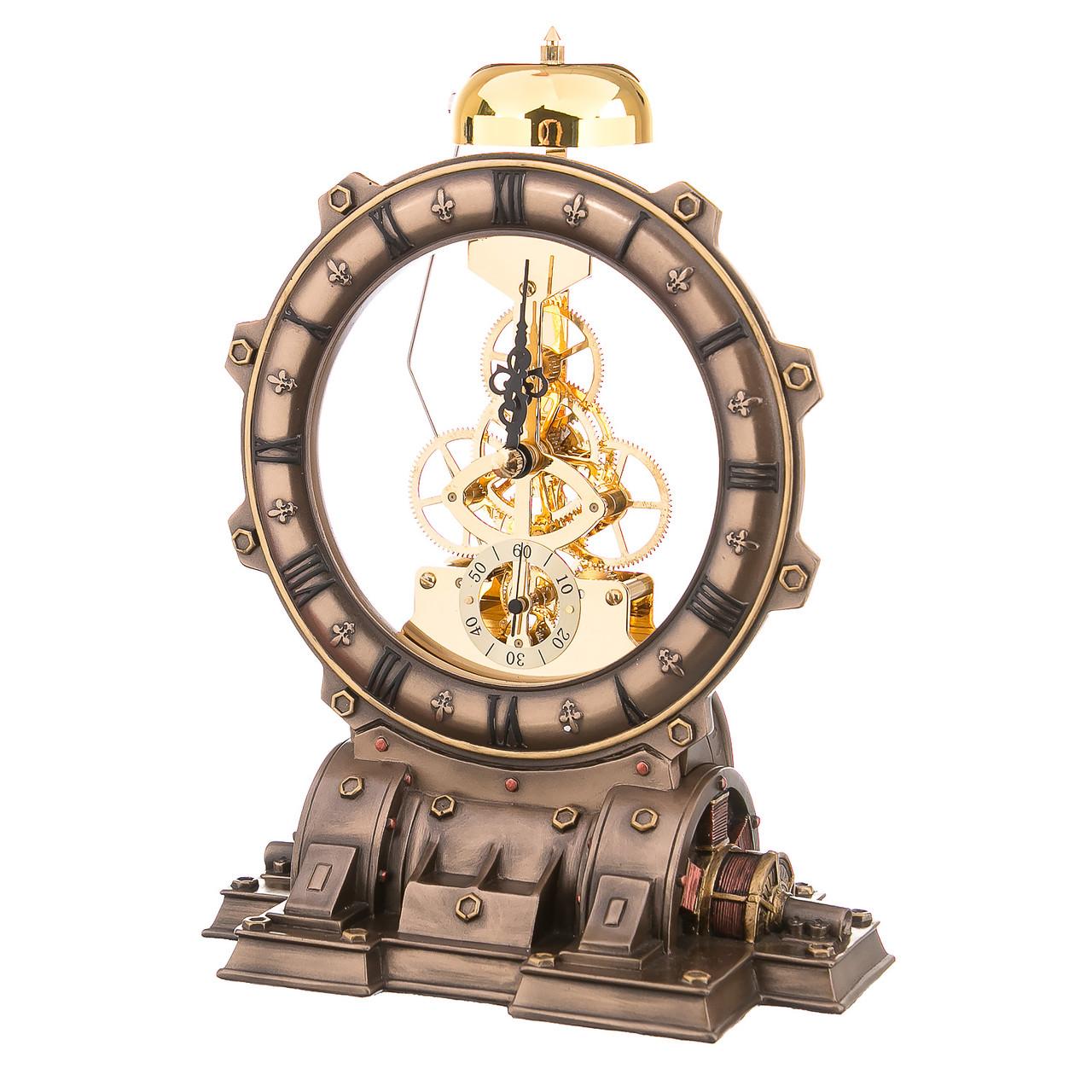 Часы настольные с боем Генератор 22 см 77027A4