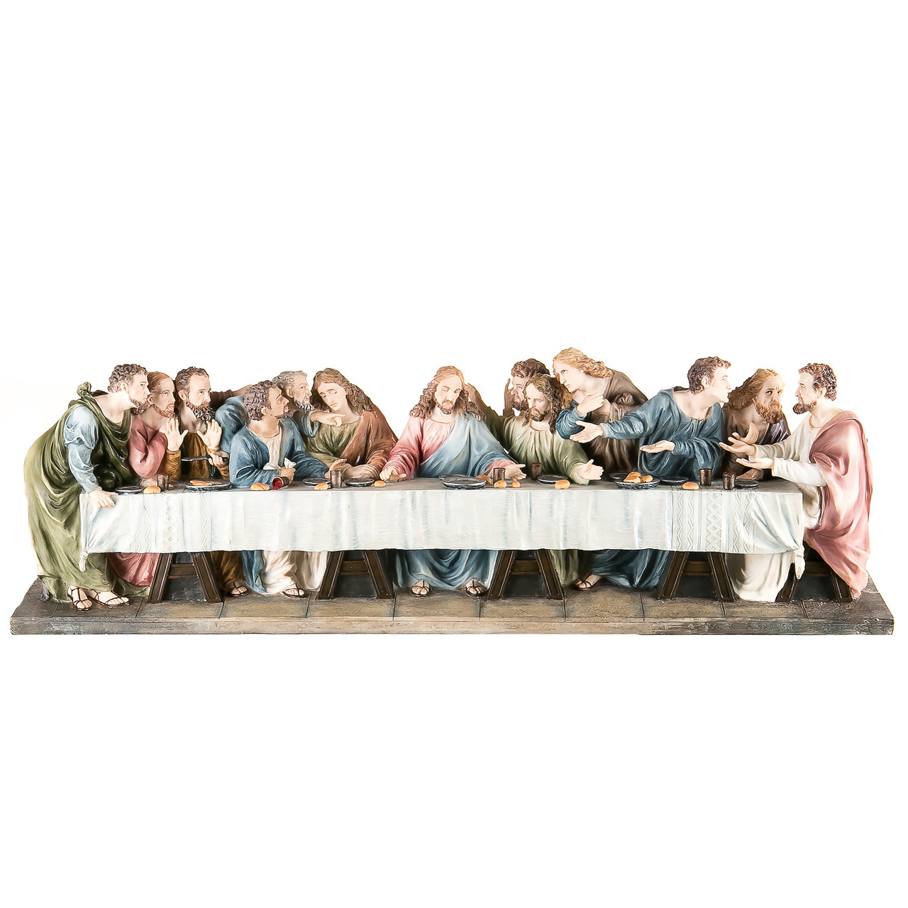 Статуетка Veronese Таємна вечеря 71 см полістоун