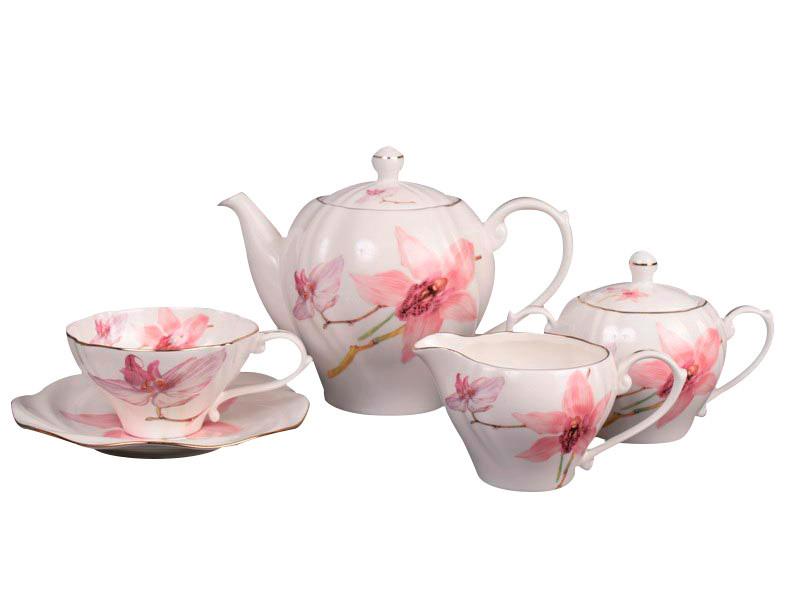 Чайний набір Lefard Орхідея на 15 предметів 264-088