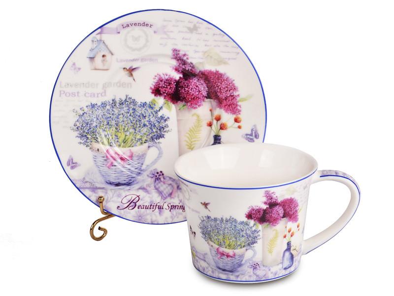 Чайний набір Lefard Лаванда на 12 предметів 924-255