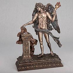 Підсвічник Veronese Ангел з факелом 26 см 74515