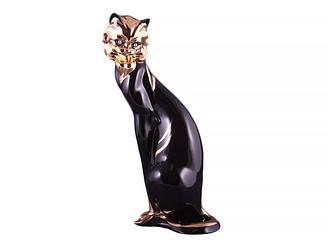 Статуэтка Lefard Дикий кот 35 см фарфор 58-289