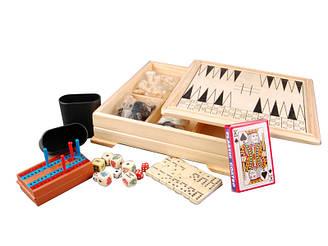Игра настольная 7 в 1 Lefard Шахматы 441-008