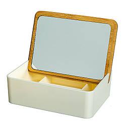 Дзеркало-скринька 15х11х5 см 10500-008