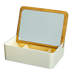 Зеркало-шкатулка 15х11х5 см 10500-008