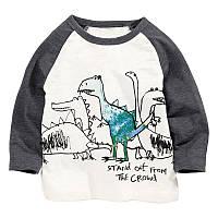 Лонгслив для мальчика динозавры jumping beans 2 Jumping Beans