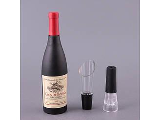 Набор для вина Lefard Штопор+дозатор+пробка 752-006
