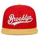 Кепка Cнепбек Brooklyn NYC с прямым козырьком, Унисекс, фото 6