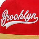 Кепка Cнепбек Brooklyn NYC с прямым козырьком, Унисекс, фото 7