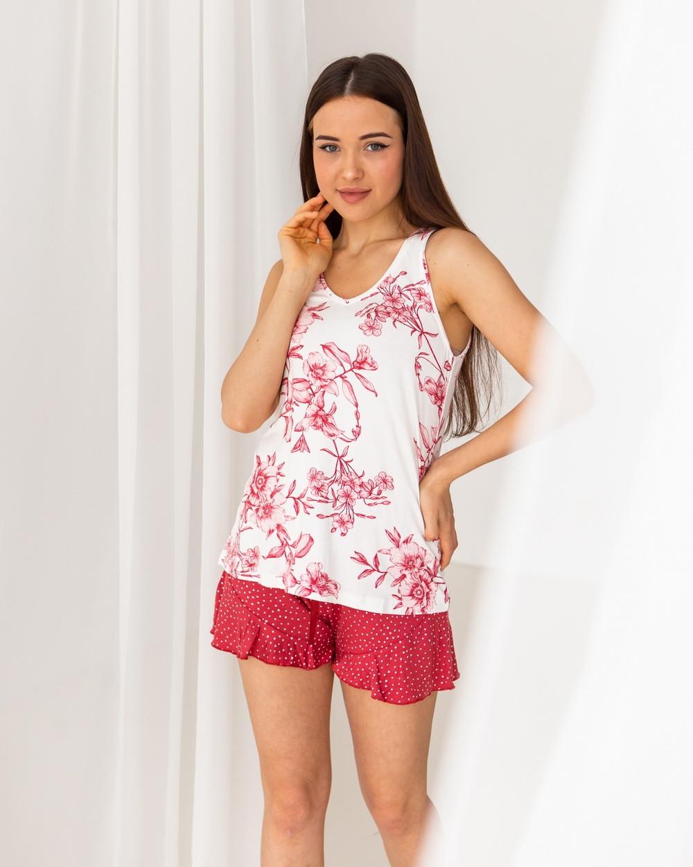 Комплект для сна с шортами Nicoletta 90394