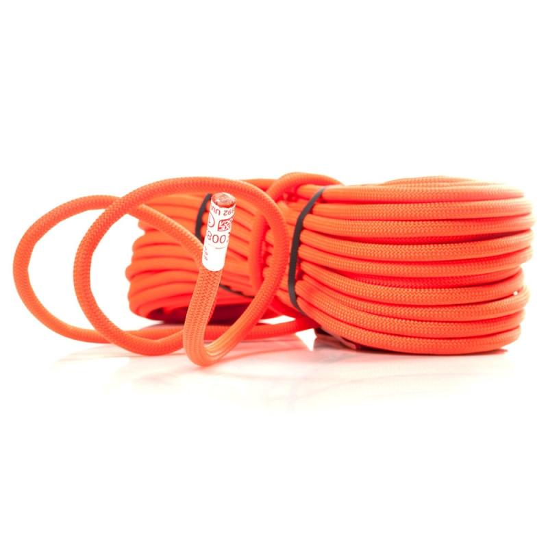 Динамическая веревка Roca Kalimnos 9,8mm 60m - Nature Orange Neon - Интернет-магазин Джиг-Джиг в Киеве
