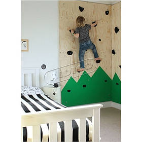 Дитячий скалодром «Лісок» для ігрової зони