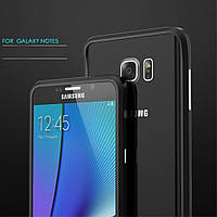 Чехол бампер металл Luphie Rapier Prismatic для Samsung Galaxy Note 5 N920 черный