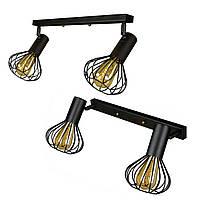Светильник лофт настенно-потолочный MSK Electric Lotus NL 14151-2
