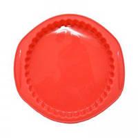 Krauff Силиконовая форма для выпечки круглая 30,7х27х3,5 см