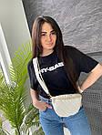 Жіноча сумка, екошкіра PU (білий), фото 3