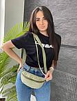 Женская сумка, экокожа PU (зелёный), фото 3
