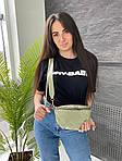Женская сумка, экокожа PU (зелёный), фото 2
