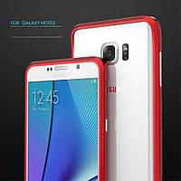 Чехол бампер металл Luphie Rapier Prismatic для Samsung Galaxy Note 5 N920 красный