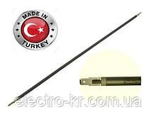 Тэн гибкий сухой(воздушный) Ø6.5мм / 1300W / L= 130см из нержавейки Sanal, Турция