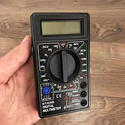 Цифровой мультиметр с термопарой DT830В тестер профессиональный для дома автомобиля