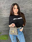 Женская сумка, экокожа PU (серый), фото 4