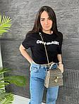 Женская сумка, экокожа PU (серый), фото 5