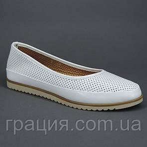 Жіночі м'які зручні туфлі натуральна шкіра