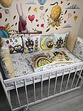 Комплект защита на 4 стороны из 12 подушек