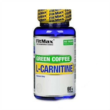 Green Coffee L-Carnitine FitMax 60 caps, фото 2