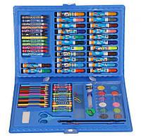 Набор для рисования 86 предметов | Детский набор для творчества | Набор юного художника