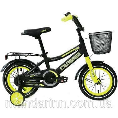 Велосипед детский ROCKY CROSSER-13 12 дюймов Салатовый