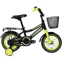 Велосипед детский ROCKY CROSSER-13 12 дюймов Салатовый, фото 1