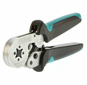 1212045 CRIMPFOX 10S Кліщі для обпресування наконечників 0,14-10 мм кв