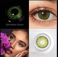 Цветные линзы для глаз + контейнер для хранения в подарок
