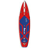 Сапборд FURY PRO 11' (2021) - надувна дошка для САП серфінгу і віндсерфінгу, sup board, фото 4