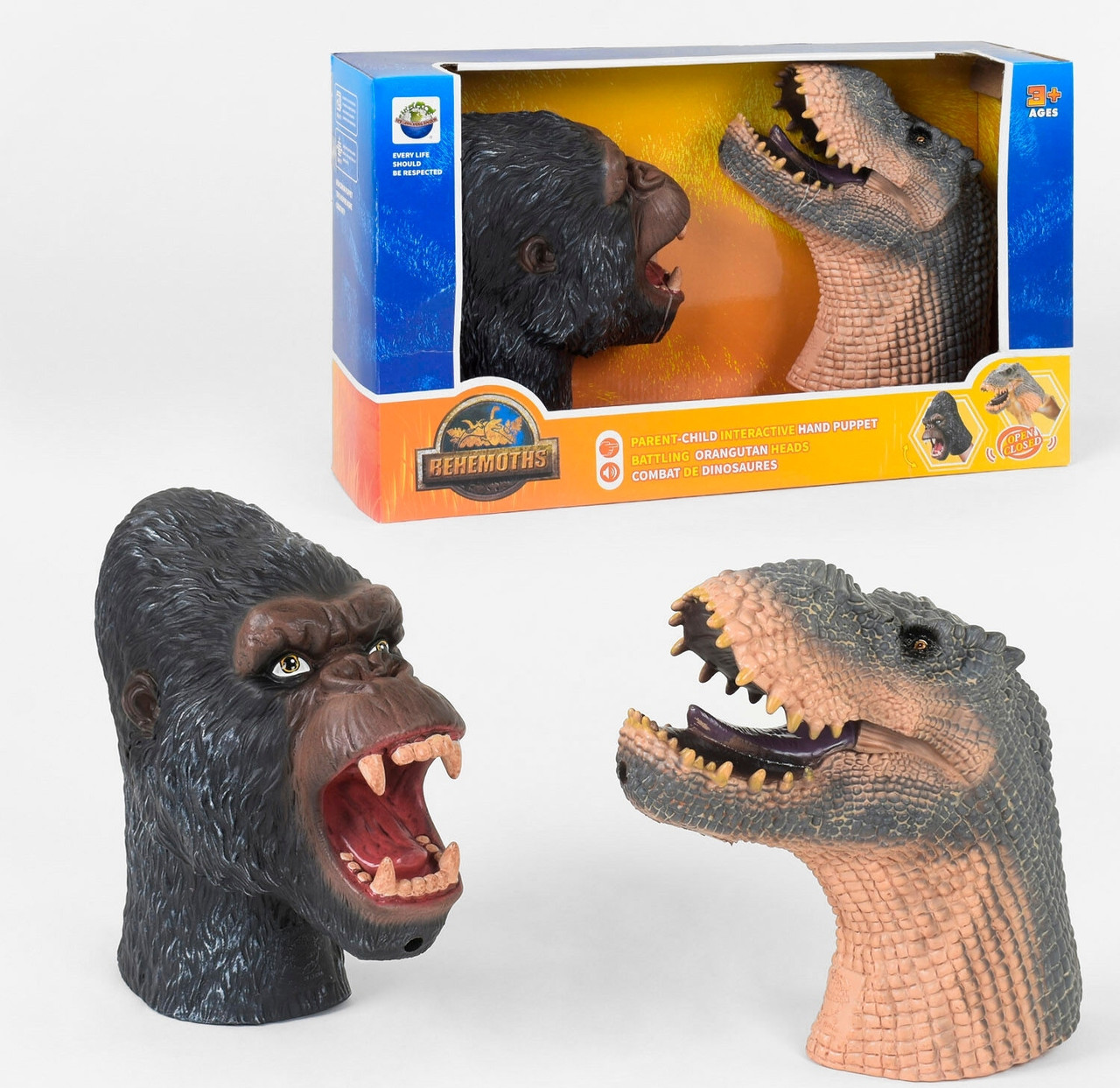 Голова Динозавра X 304 A 2 штуки, звук