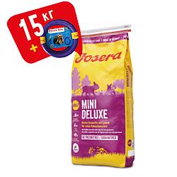 Корм Josera Mini Deluxe Йозера Міні Делюкс беззерновий корм для дрібних порід собак з ягням 15кг к|д