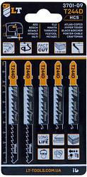 Пилки для лобзика LT-T244D 5 шт. (3701-09)